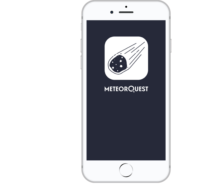 Application MeteorQuest
